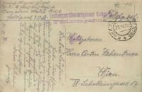 Feldpost 1. WK. Festungsartillerieregiment Kaiser No. 95 auf Foto Karte Soldat auf Pferd  ( 54 )