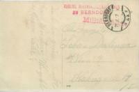 Feldpost 1. WK. Vereins Rekonvaleszenzhaus Berndorf 1917 auf Soldaten Fotokarte  ( 88 )
