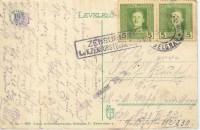 Feldpost 1. WK. Zensur k.u.k. Zensurstelle Belgrad auf Belgrad Karte mit 2 x 5 k.k. Feldpost Marken ( 89 )