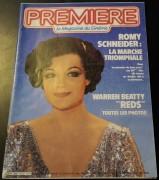 Premiere 1982 / 2902:  Romy Schneider Cover !