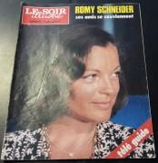 Le Soir Illustre 1983 / 2658: Romy Schneider Cover !