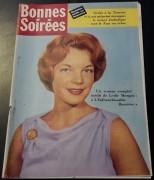 Bonnes Soirees 1958 / 1918:  Romy Schneider Cover !