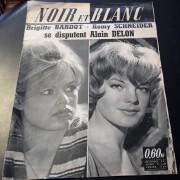 Noir et Blanc 1961 :  Romy Schneider & Brigitte Bardot Cover !