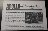 Apollo - Filmvorschau 1959 / 124: Romy Schneider ( Die Halbzarte )