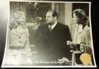 Film Aushangfoto: Der Verteidiger hat das Wort (1944) Heinrich George ( 1 )