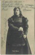 Ferdinand Bonn ( Theater ) ( 1861 - 1933 ) Autogramm Julius Weisz Karte