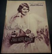872: Zwei rote Rosen ( Robert Land )  Liane Haid, Alexander Murski, Harry Halm, Oskar Marion, Grete Bilancia, Trude Hesterberg, La Jana, Julius v. Szöreghi, Teddy Bill,