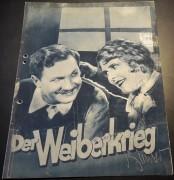 883: Der Weiberkrieg ( Die Kreuzlschreiber von Ludwig Anzengruber ) ( Franz Seitz )  Fritz Kampers, Liane Haid,  Josef Eichheim, Hans Albrecht, Henriette Speidel, Heinz Könnecke,