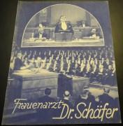 825: Frauenarzt Dr. Schäfer ( J. und L. Fleck )  Evelyn Holt, Ivan Petrowitsch, Hans Albers, Irme Raday, Leopold Kramer, Agnes Petersen,