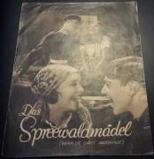 833: Das Spreewaldmädel ( Wenn die Garde maschiert )  ( Hans Steinhoff )  Claire Rommer, Fred Solm, Jakob Tiedtke, Wera Engels,  Teddy Bill, Truus van Aalten,  Wilhelm Diegelmann,