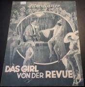 835: a: Das Girl von der Revue ( Richard Eichberg )  Dina Gralla, Werner Fuetterer, Julius Falkenstein, Max Hansen, Albert Paulig, Emmy Wyda, Valery Boothby, Else Reval,