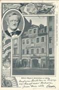 Deutschland: Gruss aus Leipzig 1898 Richard Wagner an Bernhard Tittel Komponist geschrieben