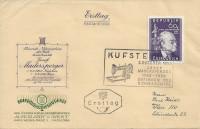 FDC: Nr: 0963 2.10.1950 Josef Madersperger Nähmaschine auf Schmuck Brief Kufstein