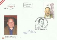 FDC: Nr: 2631 1.7.2006 Ottfried Fischer Sonderstempel + Autogramm Schmuckkuvert