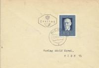 FDC: Nr: 0939 12.11.1948 30 Jahre Rep. Österreich Dr. Karl Renner Wien FDC !