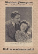 27: Die Frau von der man spricht,  Katharine Hepburn, Spencer Tracy,