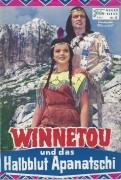 Winnetou und das Halbblut Apanachi  ( Karl May ) ( NFK )  Pierre Brice, Lex Barker, Uschi Glas, Götz George, Ralf Wolter, Walter Barnes,