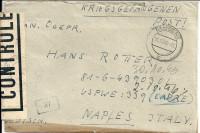Kriegsgefangenenpost 1946 von Bludenz ( mit Schmuck Brief Inhalt ) Zensur !  ( 64 )
