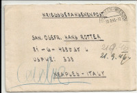 Kriegsgefangenenpost 1946 Wien ü. Bludenz Postablage Naples Italy mit Zensur  ( 80 )