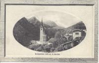 Kärnten: Gruß aus Heiligenblut ( 1279 m ) herrliche Prägekarte 1911