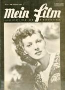 Mein Film 1949/13: Maureen O´Hara Cover, mit Berichten: Claudette Colbert, Margot Hielscher, Kapitän Scott, Errol Flynn,