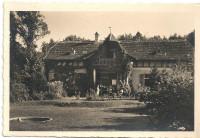 NÖ: Gruß aus Breitenfurt ( Fotokarte Annenheim 1933 ) mit Breitenfurth Wien Stempel