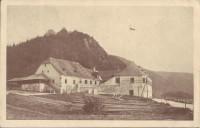 NÖ: Gruß aus Aggsbach ( Wachau ) Franz Berger Gasthof Zur Dampfschiffstation