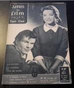 Amis du Film No. 30 / 1957:  Romy Schneider und Horst Buchholz Cover