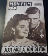 Mon Film 1959 / 650:  Romy Schneider, Karl Heinz Böhm Sissi Sonderheft mit alles über den Film !