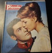 Piccolo 1959 / 2 :  Romy Schneider & Alain Delon Cover !