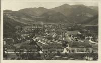 Steiermark: Gruß aus Kapfenberg 1928 Stahlfabrik der Gebrüder Böhler Fotokarte