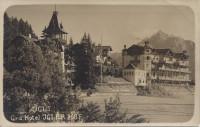 Tirol: Gruß aus Igls Grd Hotel Igler Hof herrliche Fotokarte um 1910