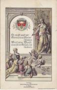 Wien I: D. Schulverein Bräunerstrasse 9 Sonderkarte 1908 nach Ober Waltersdorf