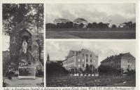 Wien XXI: Gruß aus Stadlau Hardeggasse 65 Lehr und Erziehungs Anstalt 1936