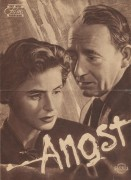 Angst ( Rossellini )  Ingrid Bergman,  Mathias Wieman,