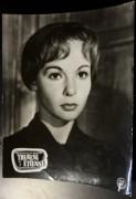 Film Aushangfoto: Therese Etienne ( 1957 ) Françoise Arnoul ( Portrait ) ( 4 )