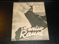 1704: Der weisse Rausch ( Arnold Fanck )  Leni Riefenstahl,