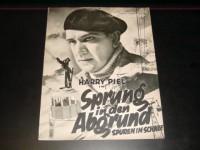 1951: Sprung in den Abgrund,  Harry Piel,  Elga Brink,