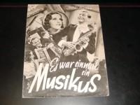 1960: Es war einmal ein Musikus, Szöke Szakall, Victor de Kowa,