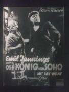 1156: Der König von Soho ( Josef von Sternberg ) Fay Wray, Emil Jannings, Olga Baclanova, Johnnie Morris, Ernest W. Johnson,