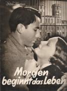1993: Morgen beginnt das Leben ( Werner Hochbaum ) Erich Haußmann, Hilde von Stolz, Harry Frank, Etta Klingenberg, Alfred Beierle,