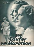 1927: Der Läufer von Marathon ( E. A. Dupont ) Brigitte Helm, Hans Brausewetter, Ursula Grabley, Paul Hartmann, Trude von Molo, Viktor de Kowa,