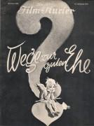 1973: Wege zur guter Ehe, Olga Tschechowa, Alfred Abel, Theodor Loos, Otto Wallburg, Hilde Hildebrand, Walter Janssen, Ali Ghito, Lisa Mar,