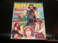 Bravo 1977/5:  Pierre Brice,  ( Winnetou )  Cover  + Poster !