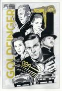 015: James Bond 007 Goldfinger ( Guy Hamilton ) Sean Connery, Gert Fröbe, Honor Blackman, Shirley Eaton, Tania Mallet, Bernhard Lee, Martin Benson, Lois Maxwell, Desmond Llewelyn,