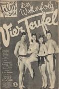 Film im Bild 12 :  Vier Teufel ( F. W. Murnau )  Janet Gaynor
