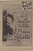 Film im Bild 13 : Frau oder Geliebte ?  Corinne Griffith