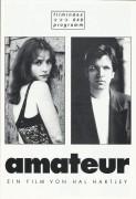 049: amateur ( Hal Hartley ) Isabelle Huppert, Martin Donovan, Elina Löwensohn, Damian Young, Chuck Montgomery, David Simonds