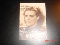 Die Frau ohne Vergangenheit,  Sybille Schmitz  A. Schönhals