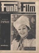 Funk und Film 1947/02: Agnes Buschmann Cover, Rückseite: Siegfried Breuer mit Berichten: Tobadill, Dermota, Syrien, Fritz Immhoff, Magda Steiner, Hannelore Schroth,